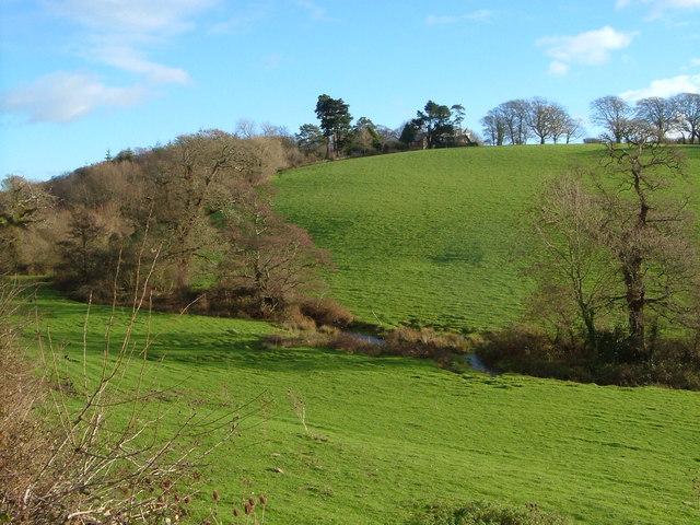 Valley below Membland