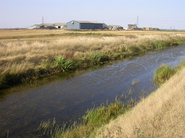 Jury's Gut Sewer, Lydd, Kent
