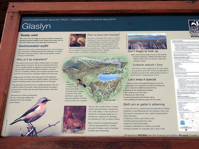Glaslyn Information Board