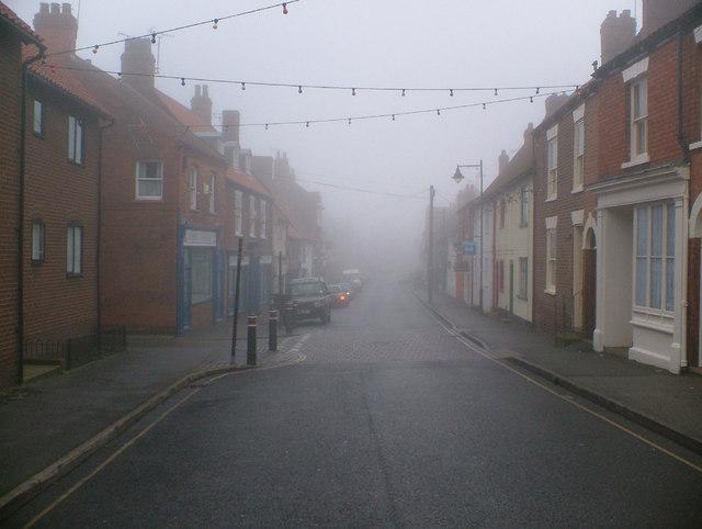 Foggy High Street