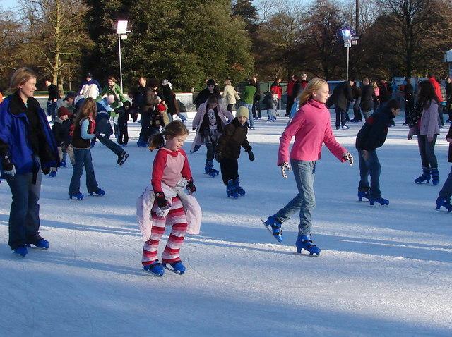 Christmas Ice Rink, Kew Gardens