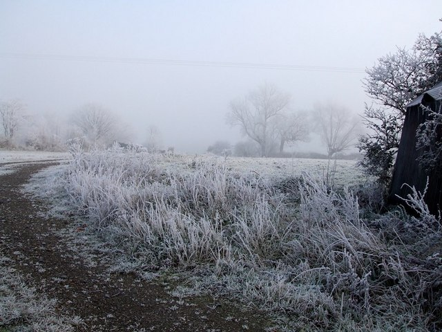 Frosty Field, Aston Abbotts
