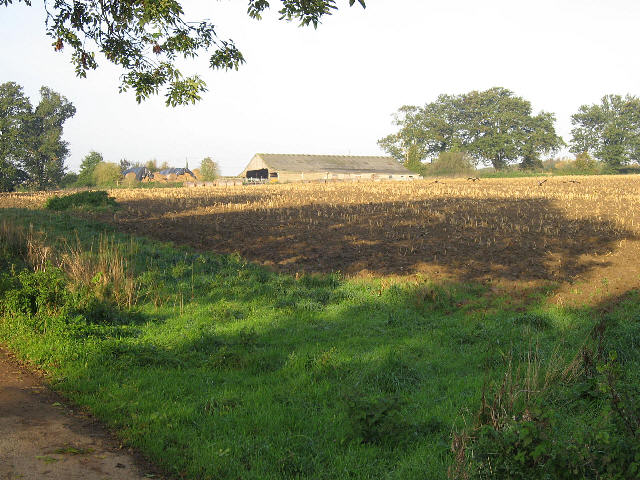 One Part Of Grange Farm
