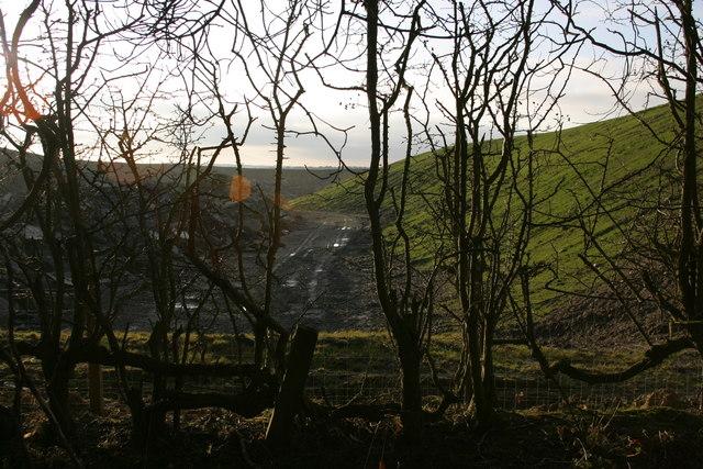 Opencast coal mining, Prestwick Carr