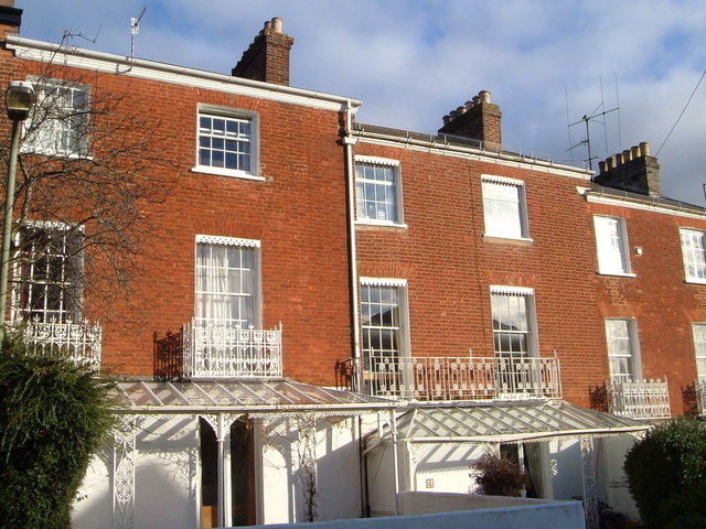 Terrace in Devonshire Place, Exeter