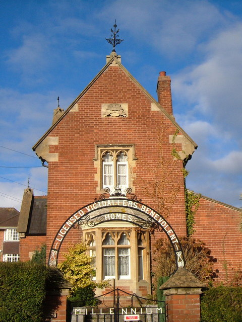 Licensed Victuallers Almshouses, Union Road, Exeter