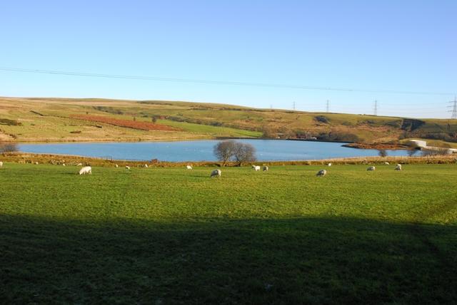 Reservoir near Trefil
