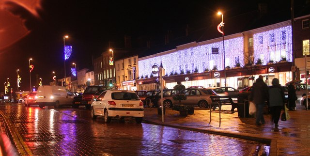 Christmas Decorations in Northallerton