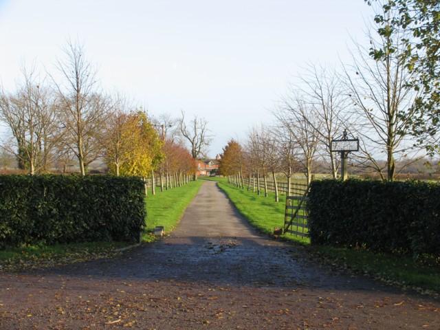 Scorborough Lodge Farm Entrance