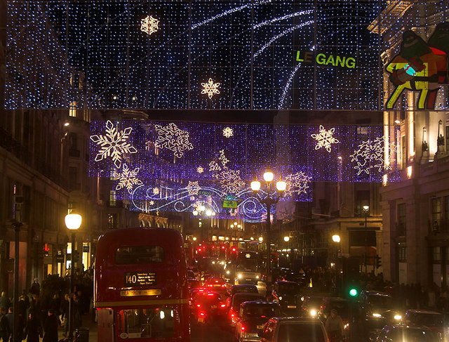 2006 Christmas Lights in Regent St