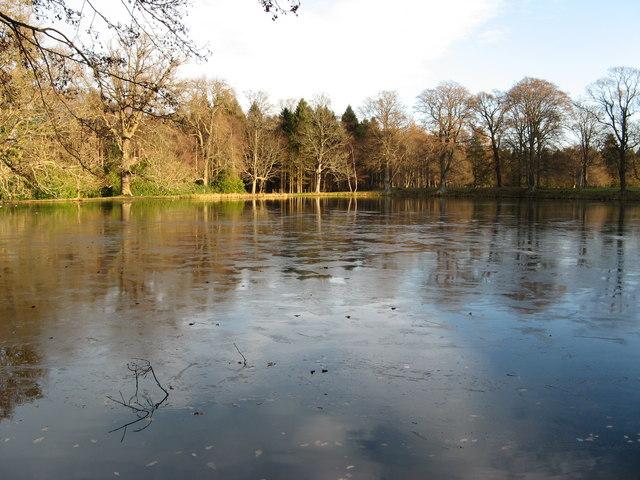 Gordon Castle Lake, Fochabers.