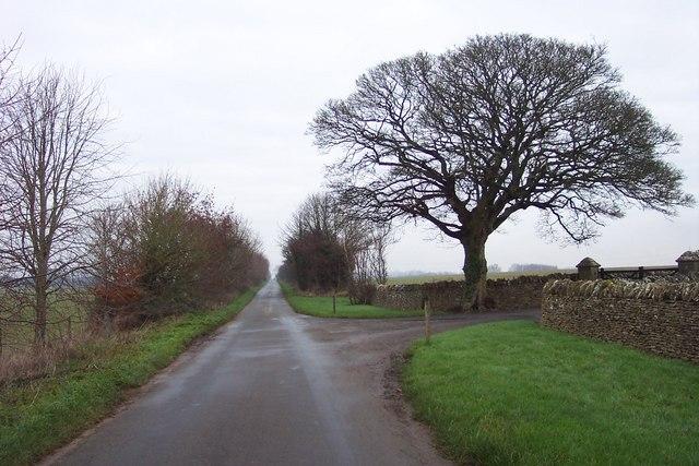 The entrance to Crickley Barrow Farm
