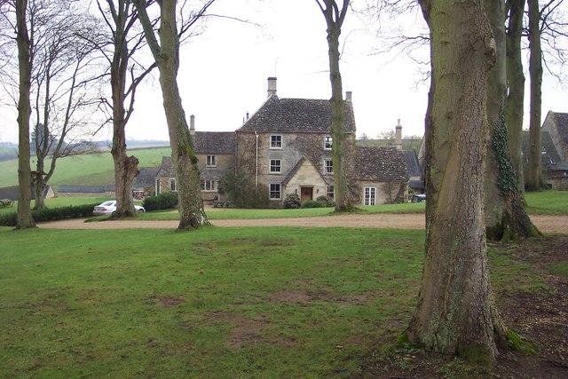 Kilkenny Farm House, through the trees.