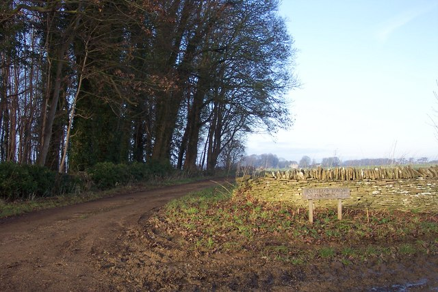 Track to Eastleach Downs