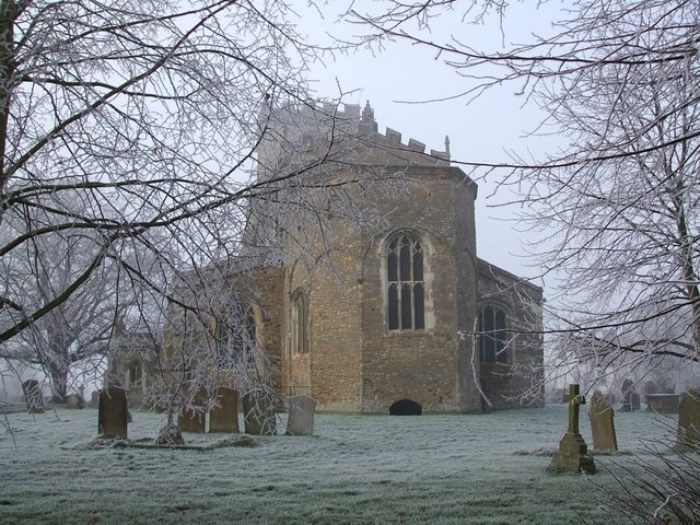 All Saints, Wing on a frosty morning