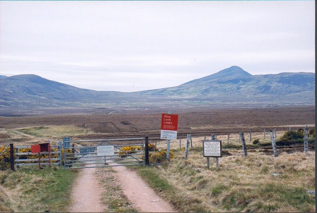Level Crossing near Ballach