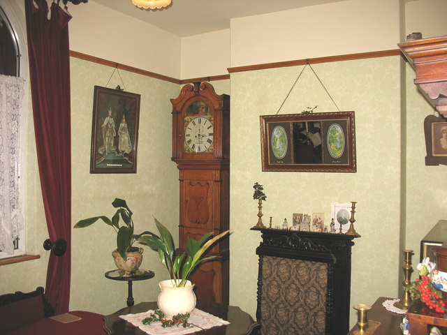 The parlour of the Chief Engineer's House