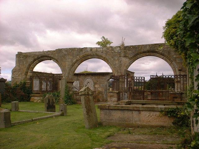 Medieval Arcade at Kilconquhar Church