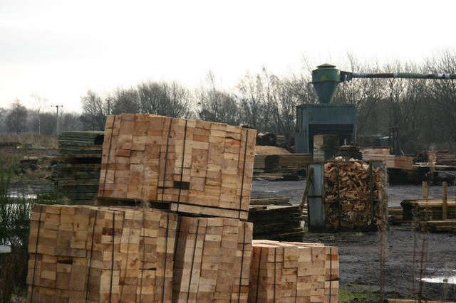 Local sawmill