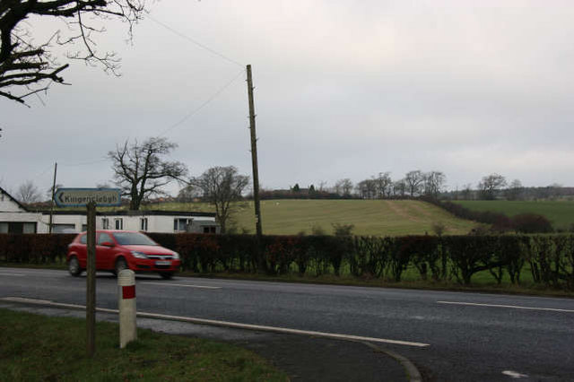 Junction of road to Kingencleugh House and A76(T)