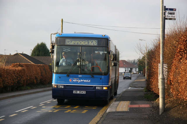 Bus  link along the B705