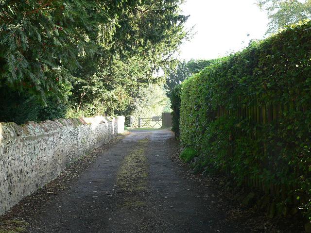 The Lane Beside The Church