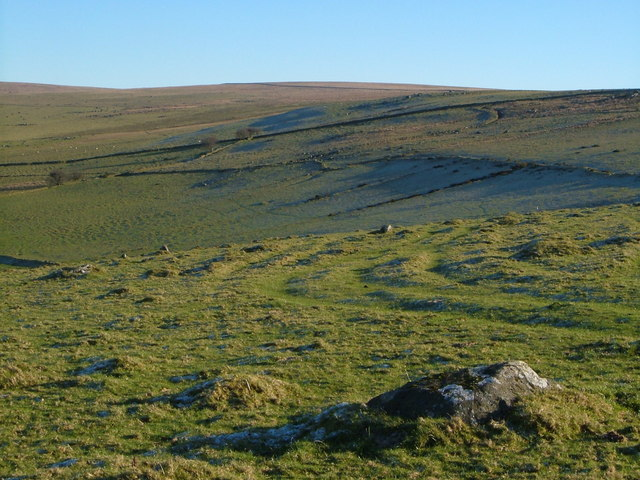 Fields north of White Tor