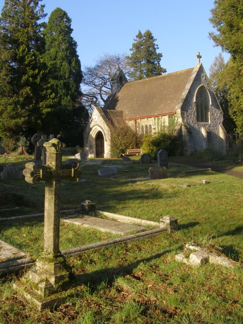 Chapel at Lyndhurst Cemetery, New Forest