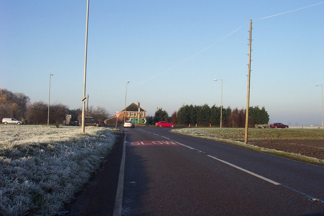 Approaching the A141