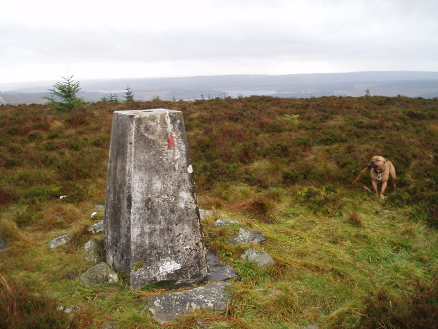 Greys Pike Trig point