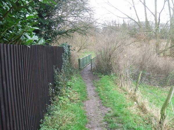 Footbridge over the Smestow Brook
