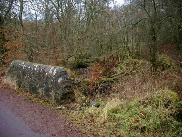Bridge over a tributary of the River Nethan