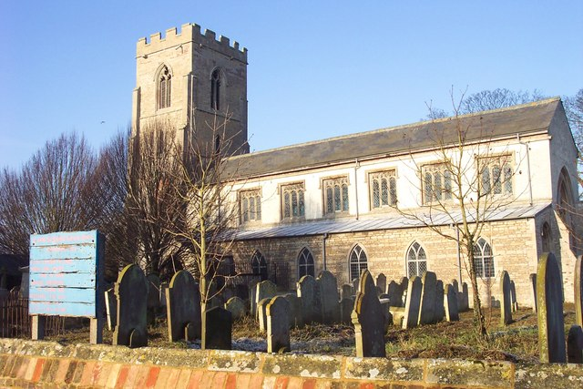 St John the Baptist church.