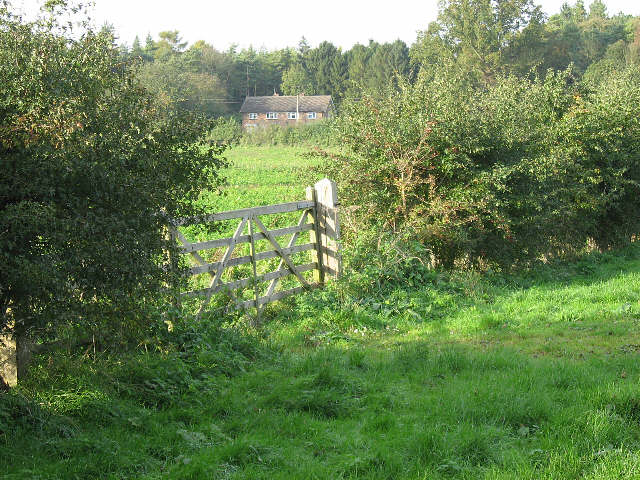 A Gate, A Field, A House
