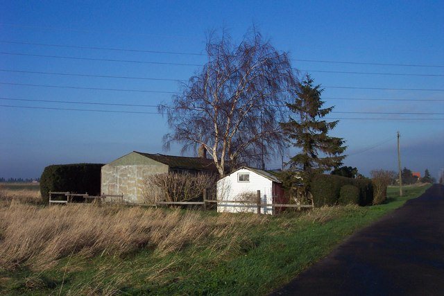 Old buildings by Guanockgate Road