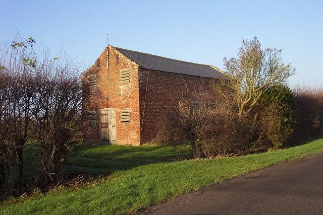 Old barn at Pear Tree House Farm