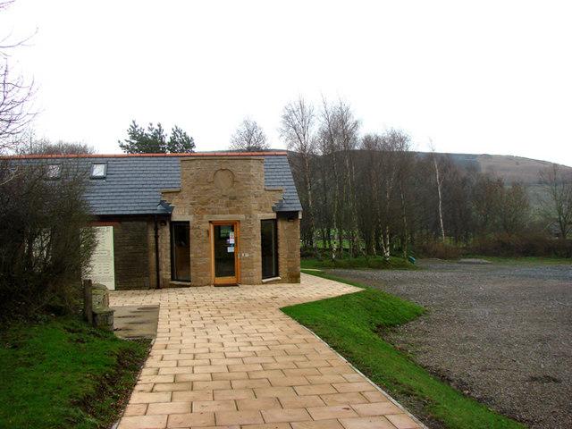 Vindolanda Visitor Centre.