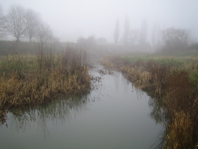 River Roding near Buckhurst Hill
