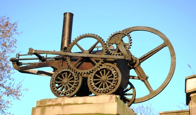 Monument to Richard Trevithick