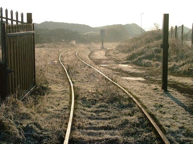 Disused Railway Siding Riverside Park 169 Mick Garratt