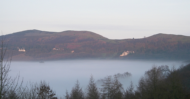 Pinnacle Hill in the Mist