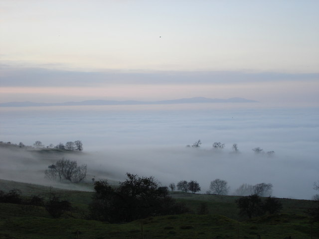 Fog in the Avon and Severn Valley