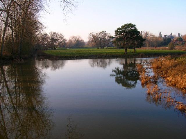 River Arun near Stopham