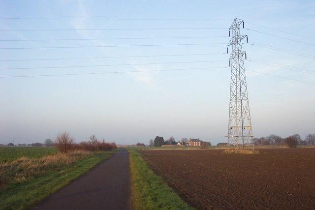Pylon by Gelder's Lane