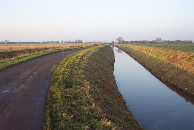 Little South Holland Drain and Daw's Gate