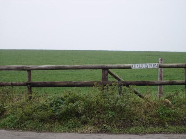 Entrance to Chalbury Farm