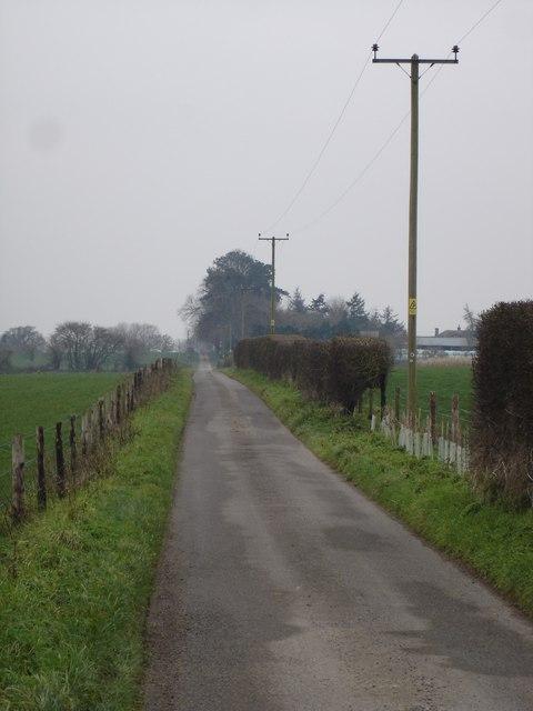 Track to Chalbury Farm