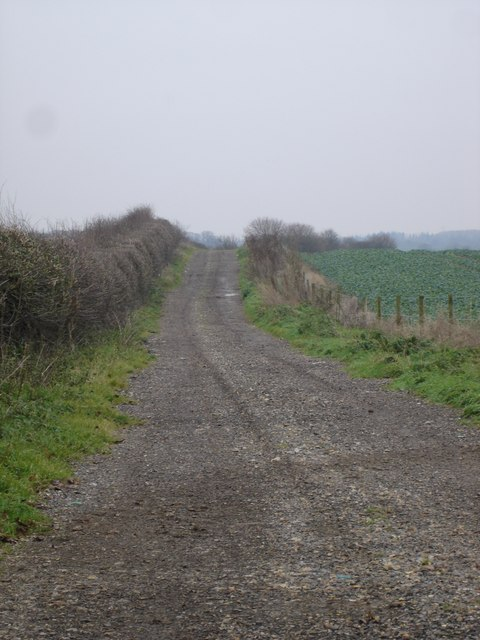 Track on North Farm, Horton