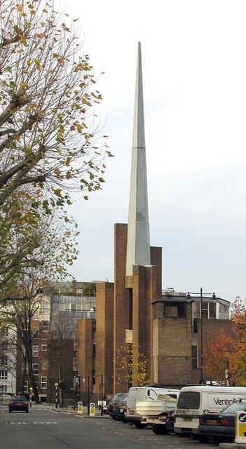 St Saviours Church, Warwick Avenue, London W9