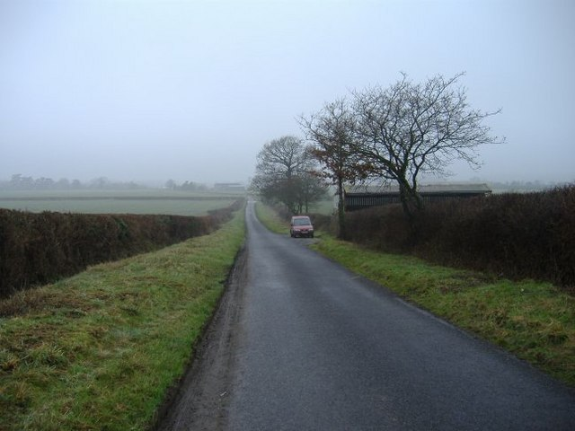 The road to Lower Stanton St Quinton
